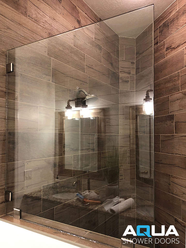 Frameless Walk-In Shower Panel Glass